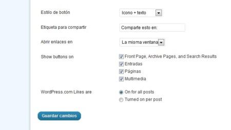"""WordPress.com extiende su """"Me gusta"""" a más lugares dentro de su servicio"""