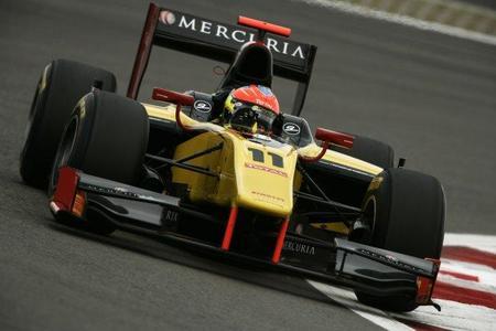 Romain Grosjean no siente la presión de ganar el título de la GP2 en Bélgica