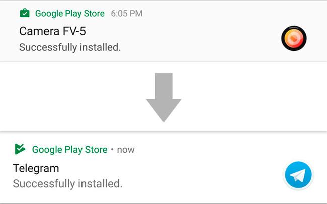 Play Store Notificaciones