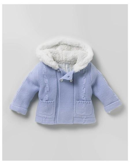Abrigo Tricot Bebé Dulces