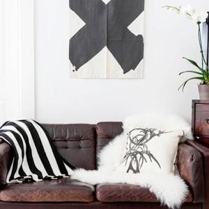 """Un Must Have de invierno, los sofás de piel suave con un """"look"""" desgastado"""