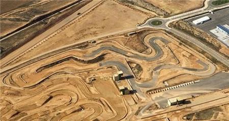 Inauguración del circuito de supermotard en Motorland Aragón