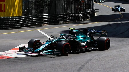 Vettel Monaco F1 2021