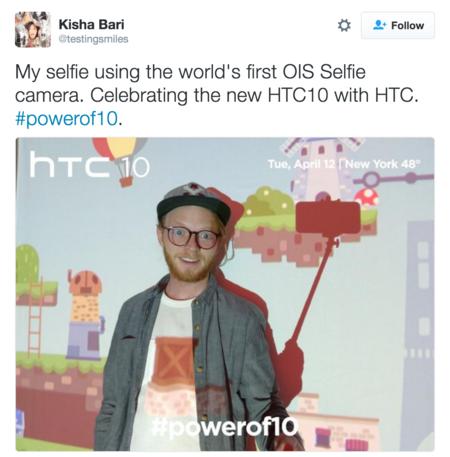 HTC 10 Selfies frontales