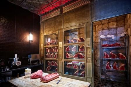 Espacios para trabajar carnico una carnicer a madrile a inspirada en los a os 50 - Decoracion carnicerias ...