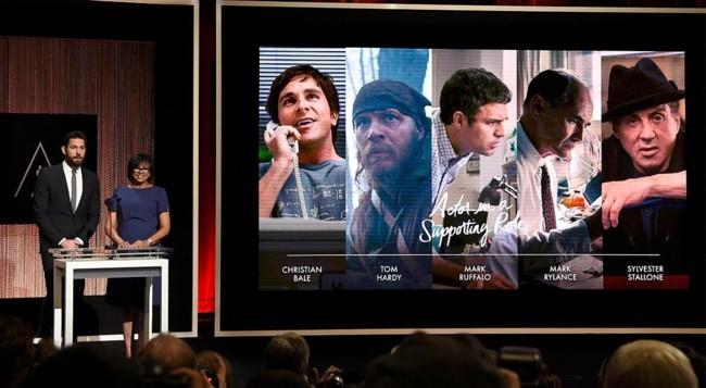 Nominados a actor de reparto Oscars 2016