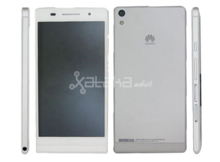 Se filtran imágenes del Huawei P6-U06, el smartphone más fino del mundo (Actualizado)