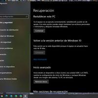 """No ha desaparecido: la función """"Comienzo desde cero"""" cambia su ubicación con Windows 10 2004 y Microsoft lo avisa ahora"""