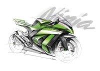 Kawasaki Ninja ZX 10R, así será en 2011 el cohete verde