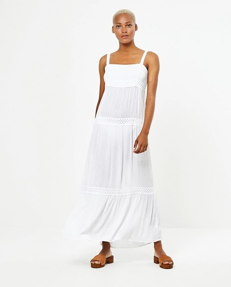 Dakota Johnsson Vestido Blanco 3