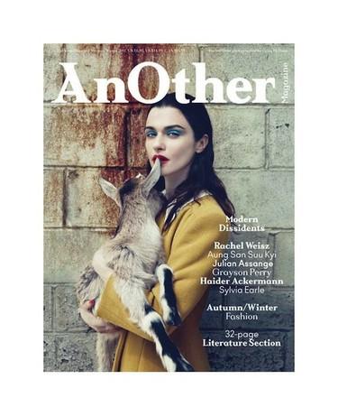 Y de pronto, una portada que enamora: Rachel Weisz en AnOther Magazine