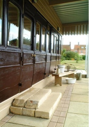 vagón tren