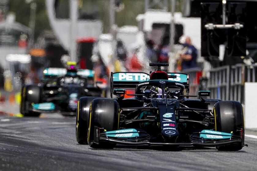 ¡De infarto! Lewis Hamilton logra su pole position centenaria en la Fórmula 1 por 36 milésimas con Max Verstappen