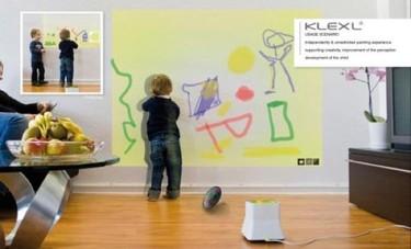 Pizarras electrónicas para que tus hijos no pinten en la pared