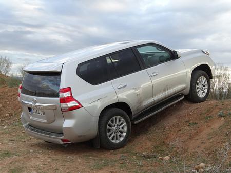 Prueba Toyota Land Cruiser Exteriores 9