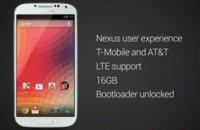 Google venderá un Samsung Galaxy S4 con Android stock y bootloader desbloqueado