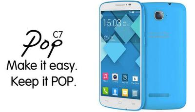 Alcatel Pop C7, precio y disponibilidad en Telcel