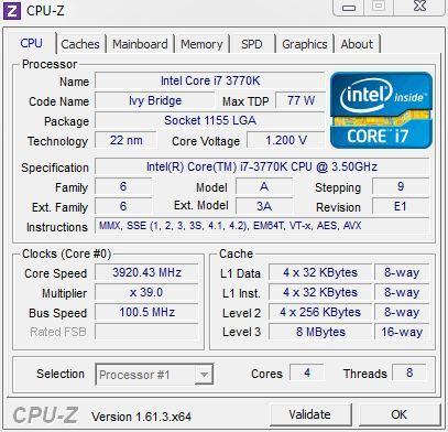 Mountain Performance i7-Ivy CPUz