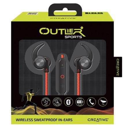 Outlier, auriculares deportivos de Creative