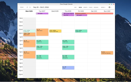 how to clear calendar on pc