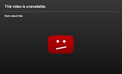 Más agresiva que nunca: la RIAA pide el email y la IP de dos usuarios de YouTube