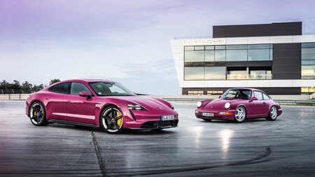 Porsche Taycan 2022 se actualiza con nuevos sistemas, tecnología y colores inspirados en el 911