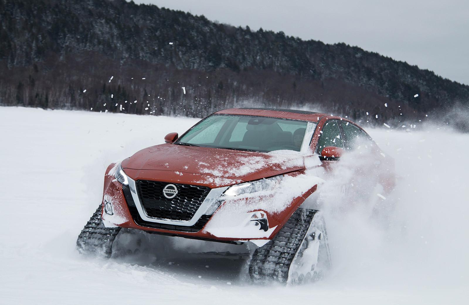 Foto de Nissan Altima-te AWD Concept (12/19)