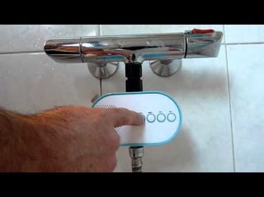 H2O Power Radio, una radio de ducha que funciona con agua