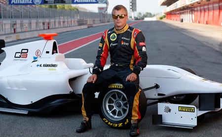 Kimi Räikkönen prueba el Dallara GP3/13 en Barcelona