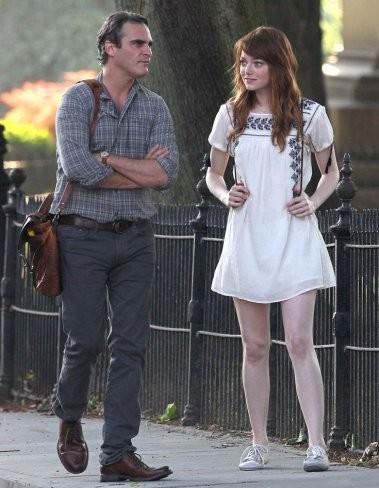 Emma Stone Joaquin Phoenix Irrational Man Rodaje Woody Allen 2015
