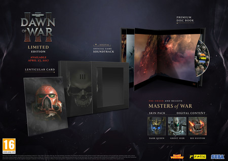 Warhammer 40000 Dawn Of War Iii Edicion Limitada