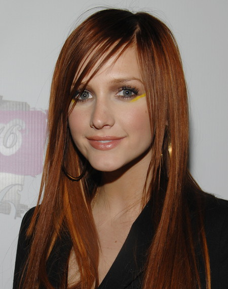celebrities rubio pelirrojo melena cabello pelo ashley simpson