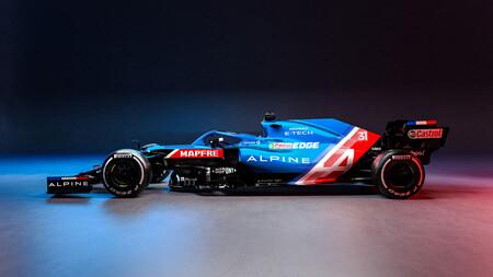 Ocon Alpine F1 2021