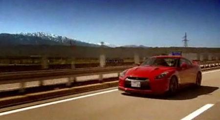 Nissan GT-R contra tren bala japonés