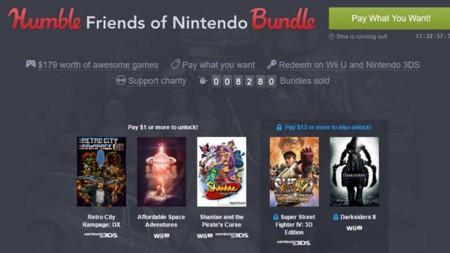 El Humble Bundle de la semana tiene juegos de Wii U y 3DS como Street Fighter o Darksiders