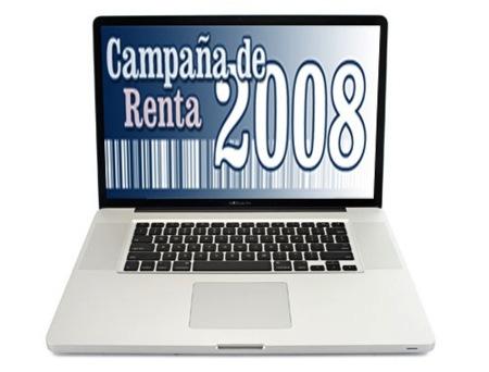 Renta 2008: hazla desde tu Mac