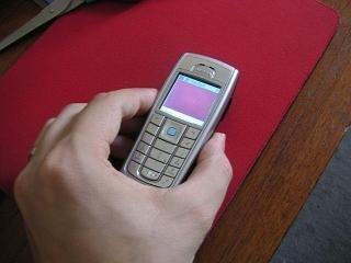 Nokia 6230i como ratón Bluetooth?
