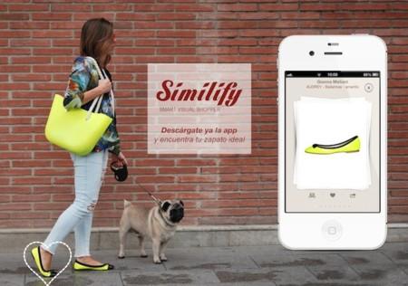 Similify, la aplicación móvil del futuro (para amantes de los zapatos)