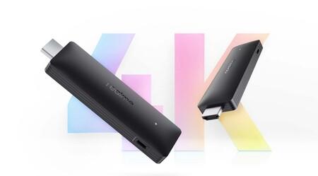 Realme Smart Google TV Stick, prestaciones similares al Chromecast con Google TV por menos dinero