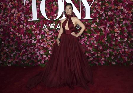 alfombra roja tony awards Ming Na Wen