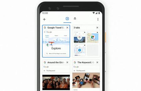 Chrome para Android lanzará su nuevo diseño de cuadrícula y la agrupación de pestañas muy pronto