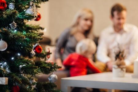Ideas de fotografías familiares navideñas