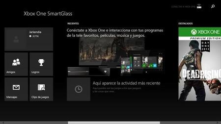Ya podemos trastear con Xbox One SmartGlass