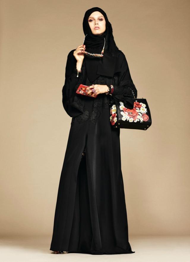 Dolce & Gabbana colección de hijabs y abayas