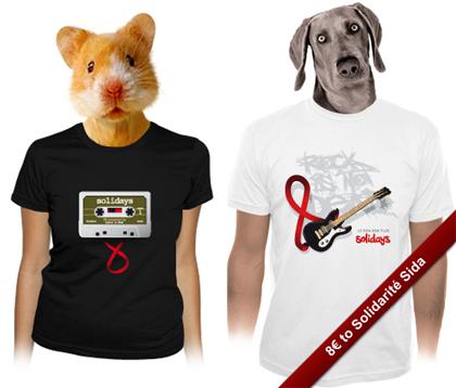 Camisetas de La Fraise solidarias