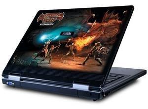 Pegasus 650, el portátil de Dragones y  Mazmorras