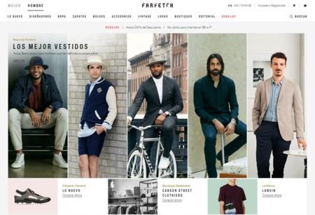 Farfetch ofrece una nueva experiencia de compra para el sector masculino