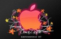 Candy Apple, fondo de pantalla