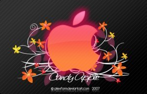 Candy Apple, fondo de pantalla