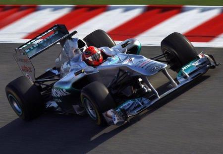 Mercedes GP necesita un segundo por vuelta para estar arriba